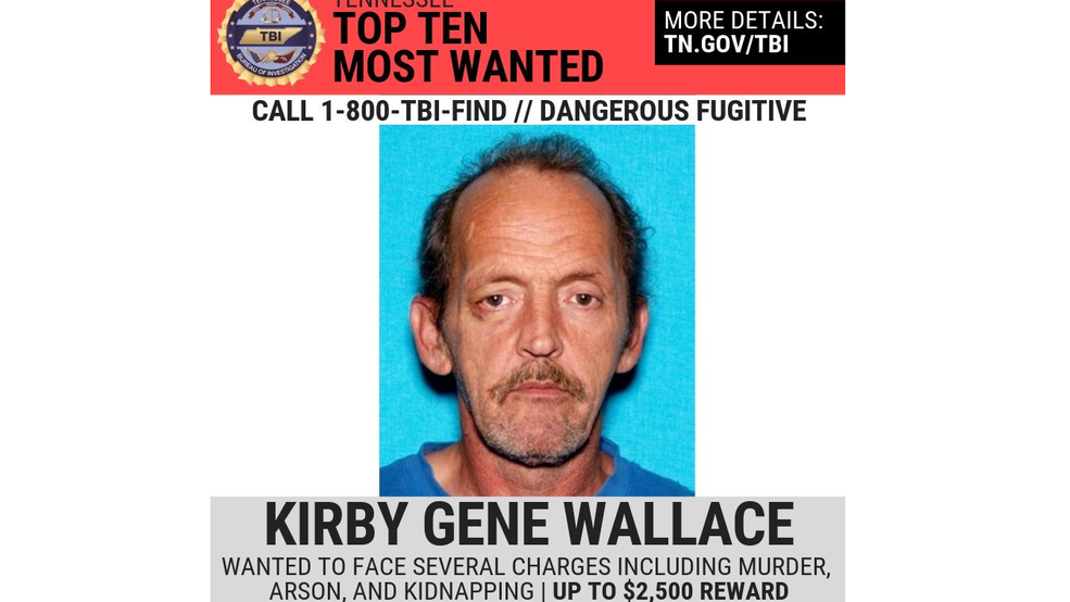 Tennessee Manhunt: Arrest records for accused killer Kirby Wallace