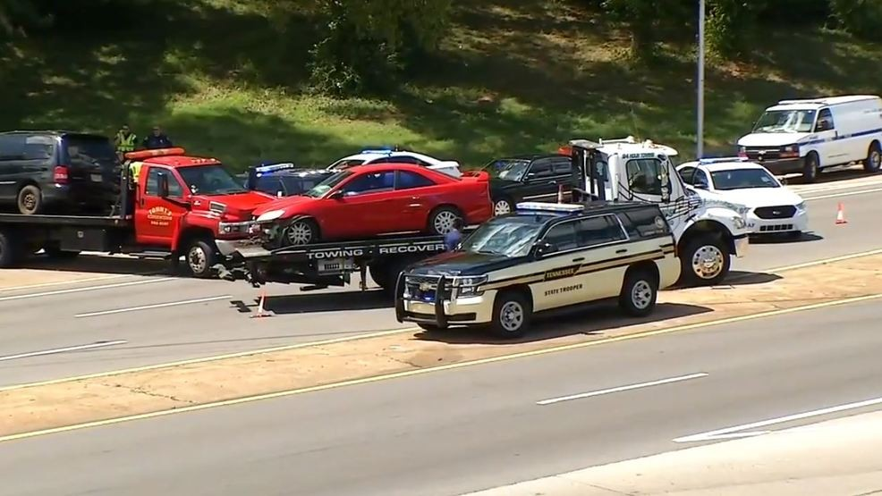 High speed two-county chase along I-40 ends in Nashville crash | WZTV