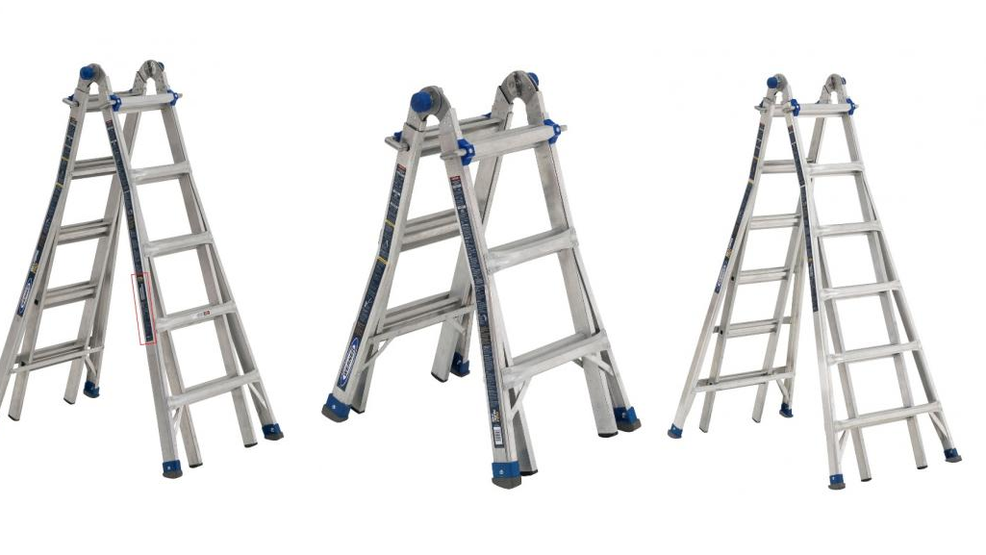 78 000 Ladders Sold At Lowe S And Home Depot Recalled Due To Fall