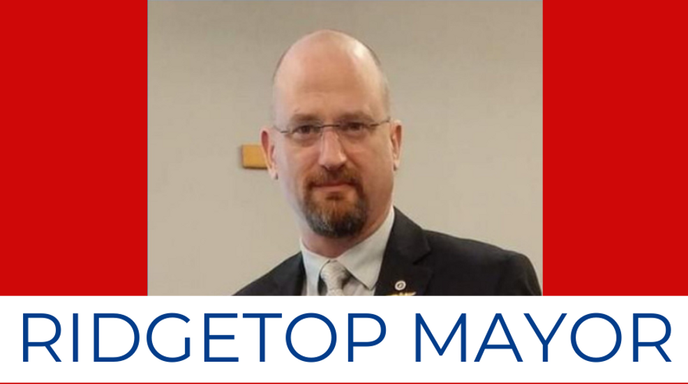 New Ridgetop mayor-elect vows to reinstate police department immediately