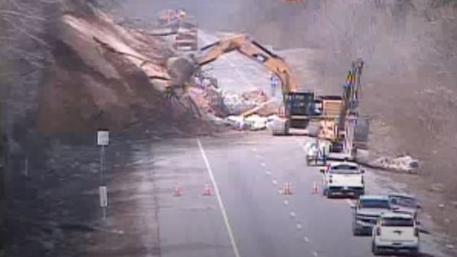 I-24 landslide spurs $8M worth of repair work