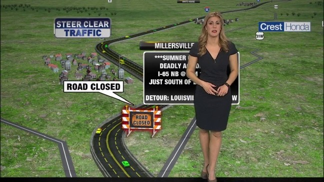 Deadly Accident on I-65 Near Millersville Closes Interstate in Both