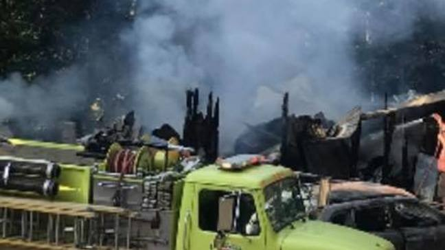 Family of 12 loses everything in house fire