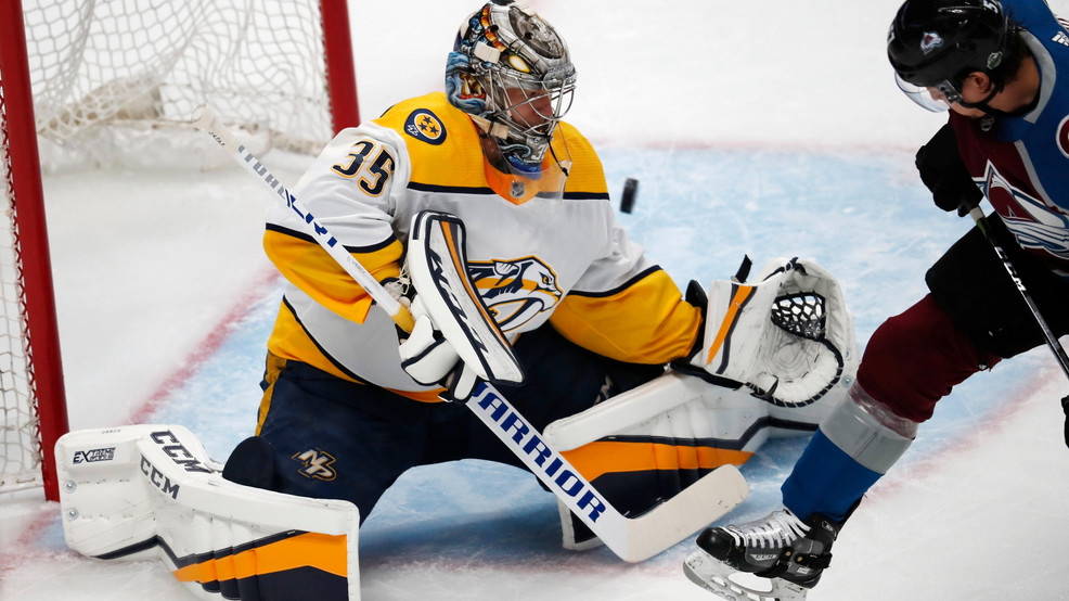 Preds Goalie Pekka Rinne Tapped As Team S Nominee For King Clancy