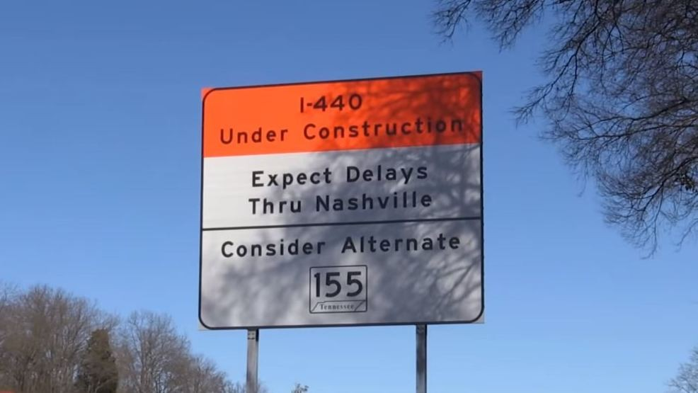 Heavy construction, increased drive times on I-440 to start March 1
