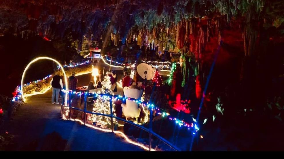 Christmas In Tennessee.Walk Among The Stalagmites At This Christmas Cave In