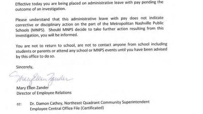 Stratford high school principal placed on paid leave amid grade