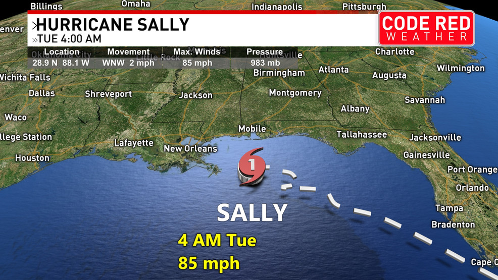 tracking the potential impacts of hurricane sally for middle tennessee wztv hurricane sally for middle tennessee wztv