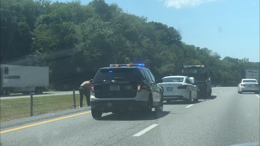 TDOT responding to reported crash on I-40 West in Smith